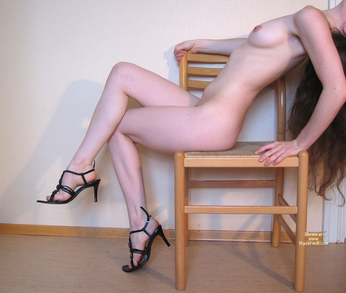 Pic #1 - Nude In Heels - Heels, Naked Girl, Nude Amateur , Petite Body, Only In Heels, Naked With Shoes, Sitting Nude, Small Breast, Medium Natural Breast, Indoor Nude Profile, Naked, Black Tie Heels