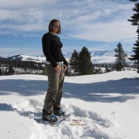 Sydny Snowshoeing