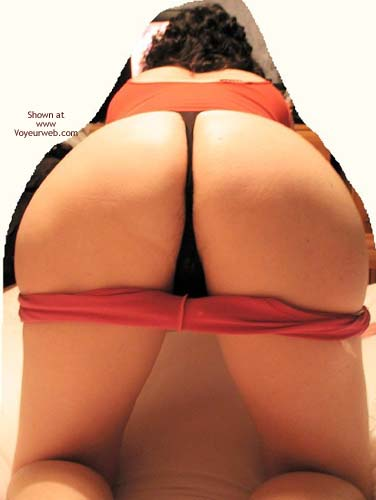 Pic #4 - UK Helen Pink Shorts, Ample Bottom & Doggy Style!