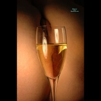 Pussy And Champagne - Nude Amateur