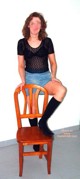 Pic #1 - Laura Debuts In Denim