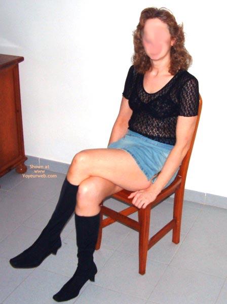 Pic #2 - Laura Debuts In Denim
