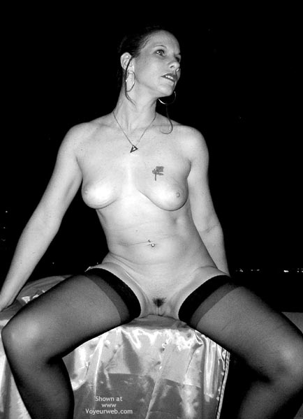 Pic #6 - Cum Here, B And W
