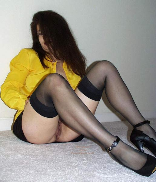 Pic #3 - Doctor Wife in Balck Stockings 3