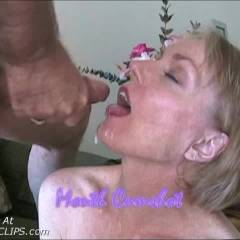 Mouth Cumshot In Slow Motion
