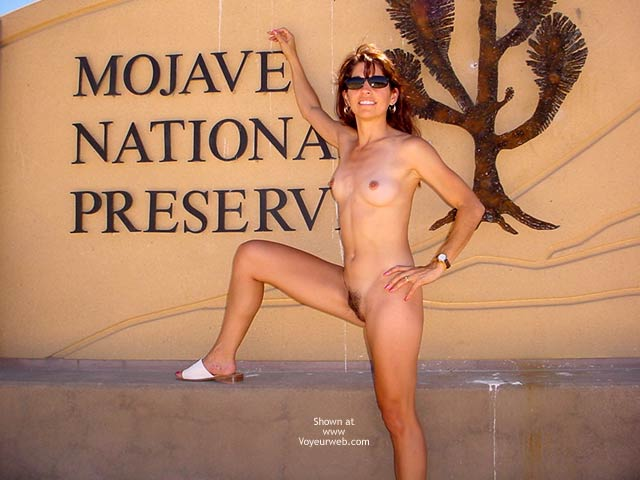 Pic #1 - Place Sign - Full Nude, Small Tits , Place Sign, Fully Naked, Preserve The Nature, Small Titties