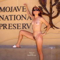 Place Sign - Full Nude, Small Tits