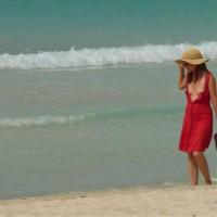 Airing The Tits - Brunette Hair, Small Tits, Sunglasses, Beach Voyeur