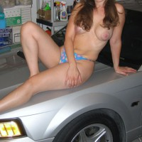 Milf Wife With My Car