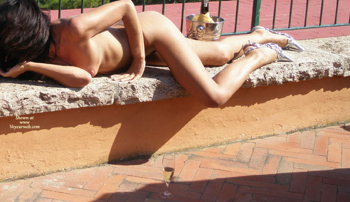 Pic #1 - Sexy Nude Brunette Lying In The Sun - Brunette Hair, Naked Girl, Nude Amateur , Nude Girl Wearing Heels, Lying Naked In The Sun, Slender Nude With Nice Tits, Nude Reclining On Bench In Sunlight, Lying Down Outside, Lying On A Rough Concrete Bench, Nude Face Down, Nude With Heels, Laying In Sunny Backyard
