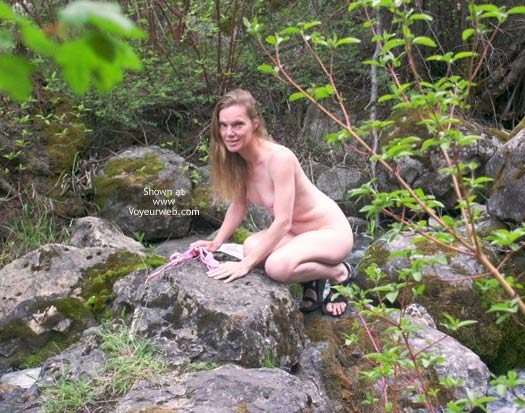 Pic #1 - Lacy Chains Naked in The Forest 3