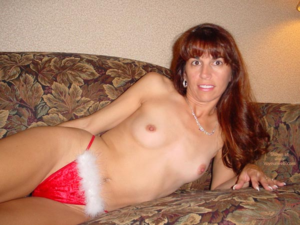 Pic #5 - Brunette Santa's Little Helper