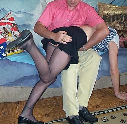 Pic #1 - Spanking Monica