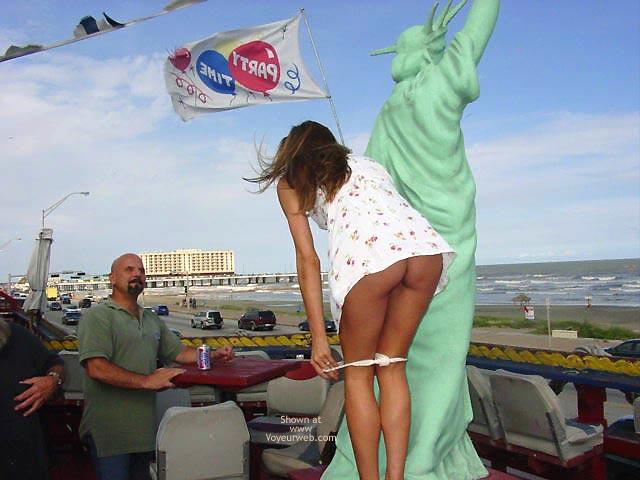 Pic #3 - *NP Strip Tease On The Poop Deck
