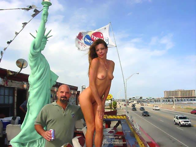 Pic #10 - *NP Strip Tease On The Poop Deck