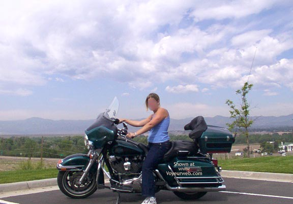 Pic #3 - KC & The Harley in Colorado