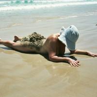 Cindybonk Spreading At The Beach