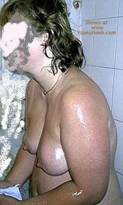 Pic #2 - Wife After Bath
