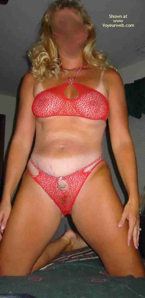 Pic #3 - Tammy In Red