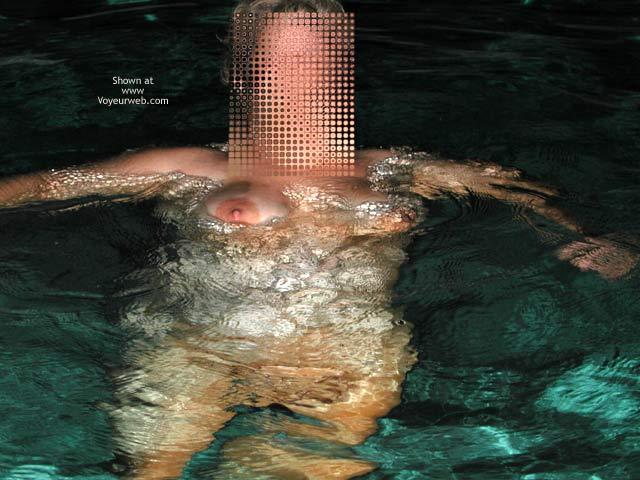 Pic #1 - *NT Mrs Vernie in Pool at Night
