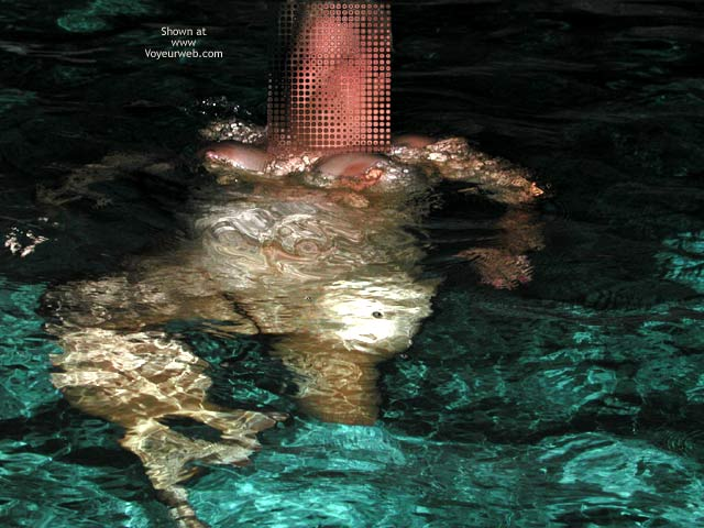 Pic #2 - *NT Mrs Vernie in Pool at Night