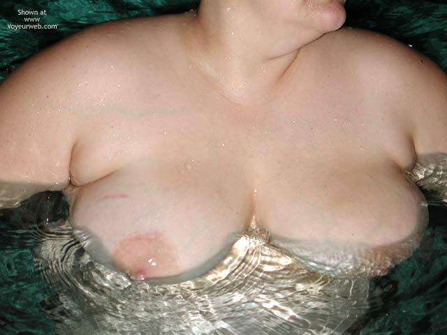 Pic #5 - *NT Mrs Vernie in Pool at Night