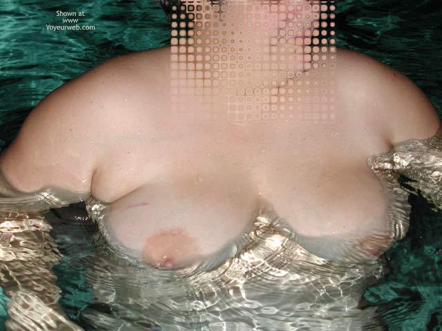 Pic #6 - *NT Mrs Vernie in Pool at Night
