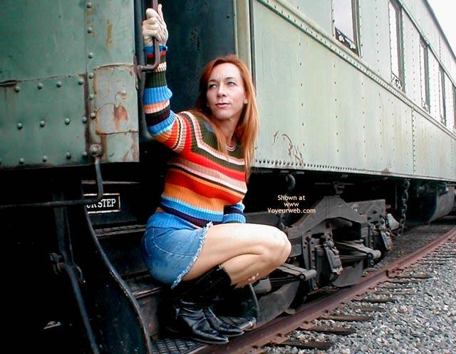 Pic #1 - Kim4kate Trainspotting