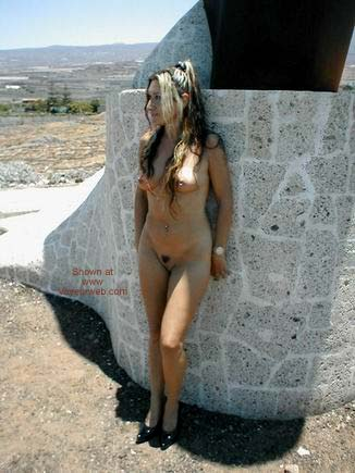 Pic #4 - Getting Naked by The Beach