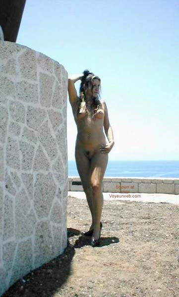 Pic #5 - Getting Naked by The Beach