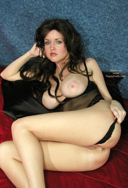 Pic #5 - Nadine In Black Bodysuit
