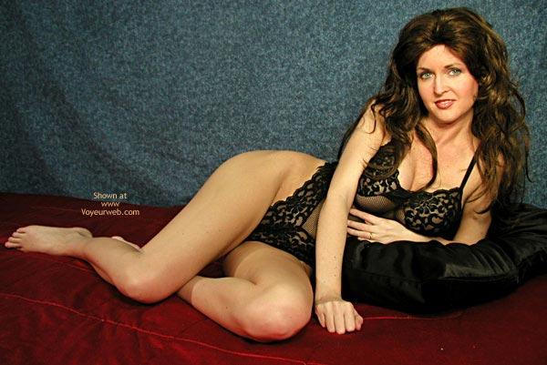 Pic #6 - Nadine In Black Bodysuit
