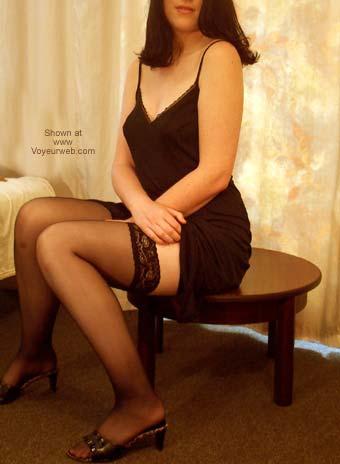 Pic #2 - Sexy Girlfriend's Striptease!