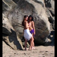 *GG Two Models at The Beach 2
