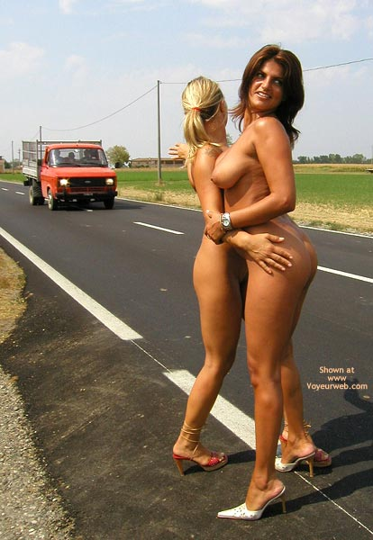 Pic #7 - *Gg Nude Hitch Hiking With Vanessa