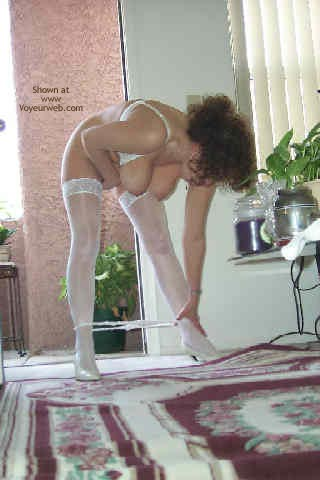 Pic #7 - Showing Off In The Doorway