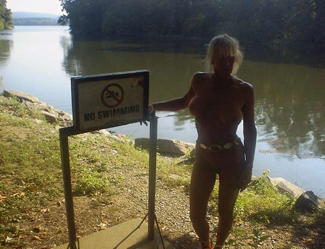 Pic #8 - Wife Up The Creek