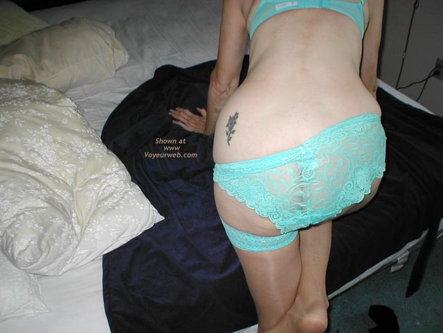 Pic #4 - Wife in Lingerie 2
