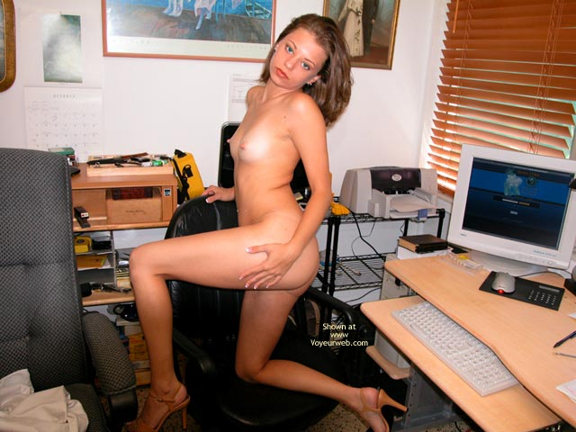 Pic #3 - Yevette At The Desk