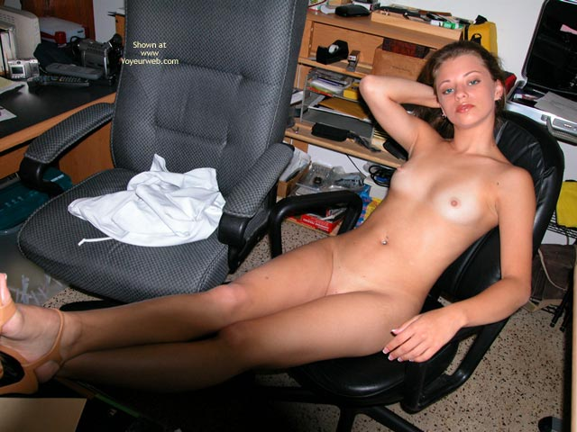 Pic #5 - Yevette At The Desk