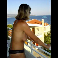 Tina : Naked On The Terrace