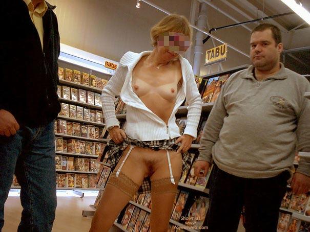 Pic #8 - *Sn Julie Hsavoie In An Adult Shop