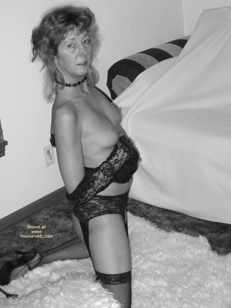 Pic #5 - Sally,Bw Pics,Posing In Lingeria