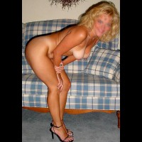 Hot Wife Cassie on the Couch