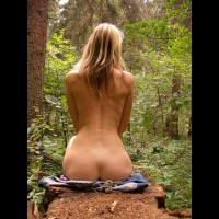 Sitting Upright Showing Perfect Hourglass - Naked Girl, Nude Amateur