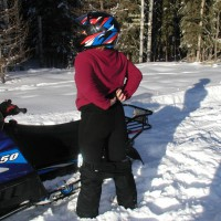 Crazy Canuck (she) Sledding #2