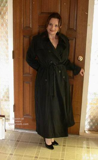 Pic #1 - Buxomgirl38e In A Trench Coat