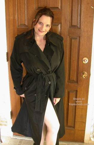 Pic #2 - Buxomgirl38e In A Trench Coat