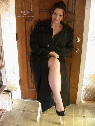 Pic #5 - Buxomgirl38e In A Trench Coat