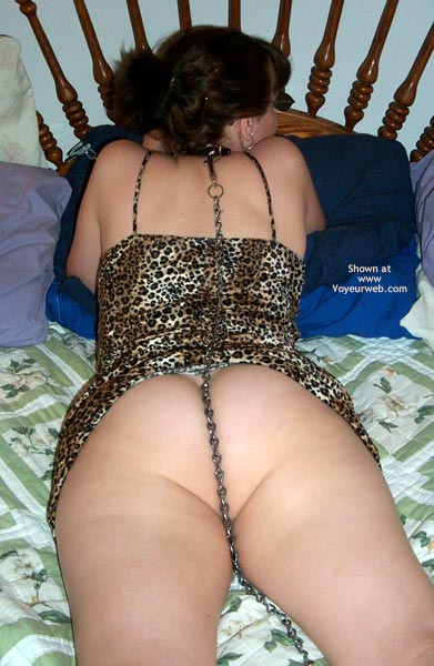 Pic #7 - Kitty Kim Chained Leopard 2